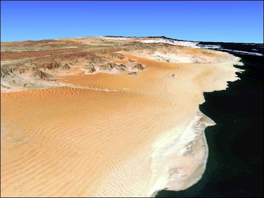 Oceano del Namib