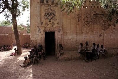 ONG, Burkina Faso niños