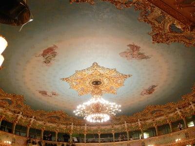 Ópera La Fenice en Venecia