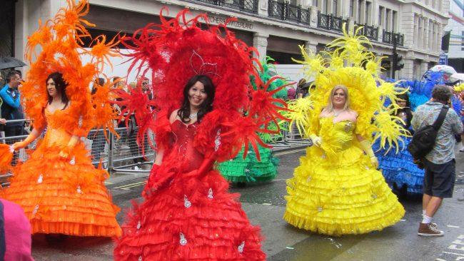 Orgullo gay de Londres en verano