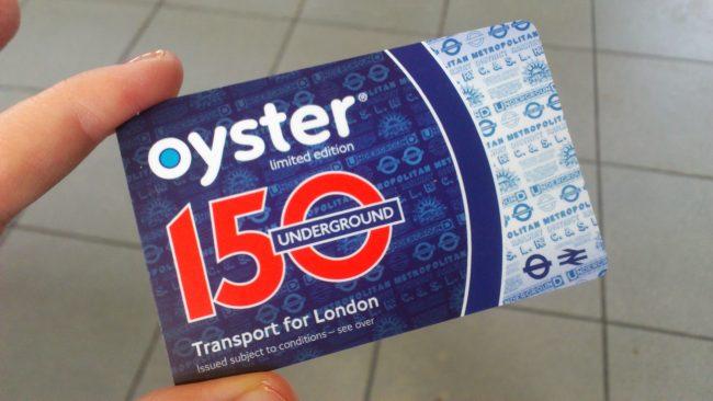 Oyster Card: el método de pago más cómodo del transporte de Londres