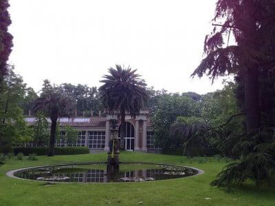Pabellón Villanuevadel Botánico de Madrid