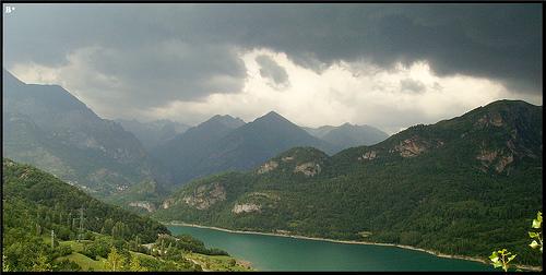 Paisaje de Los Pirineos - Huesca