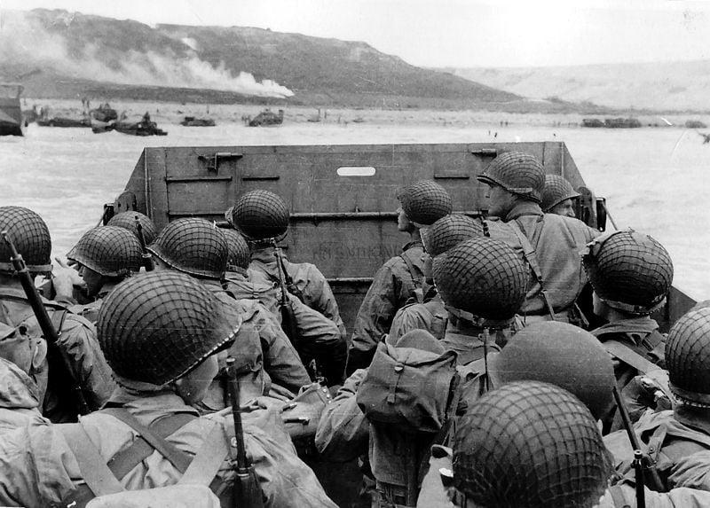 paisajes de guerra batalla de Normandia