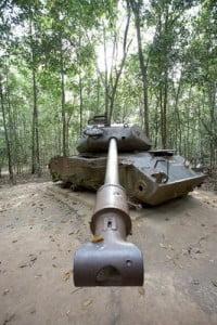 paisajes de guerra tanque