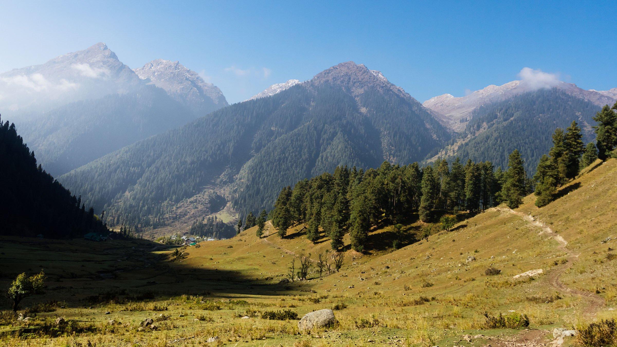 paisajes de la India lidderwat kashmir