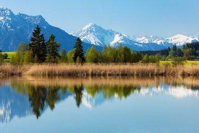 paisajes de naturaleza Forggensee en Alemania