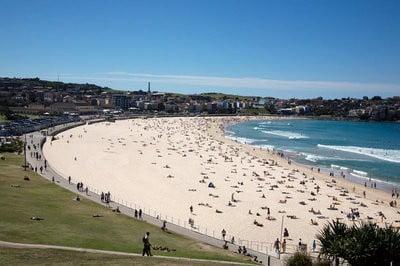 paisajes de playa Playa Bondi de Sydney