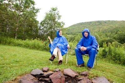 paisajes lluviosos disfrutando de la lluvia