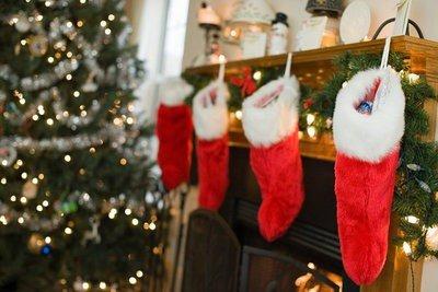paisajes navidad decoración interior