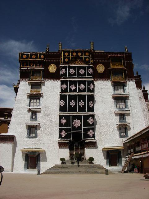 Palacio de Potala, Tibet.