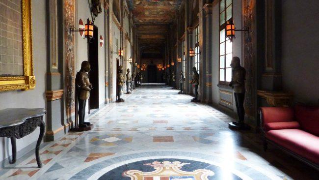 Interior del Palacio del Gran Maestre en La Valeta, Malta