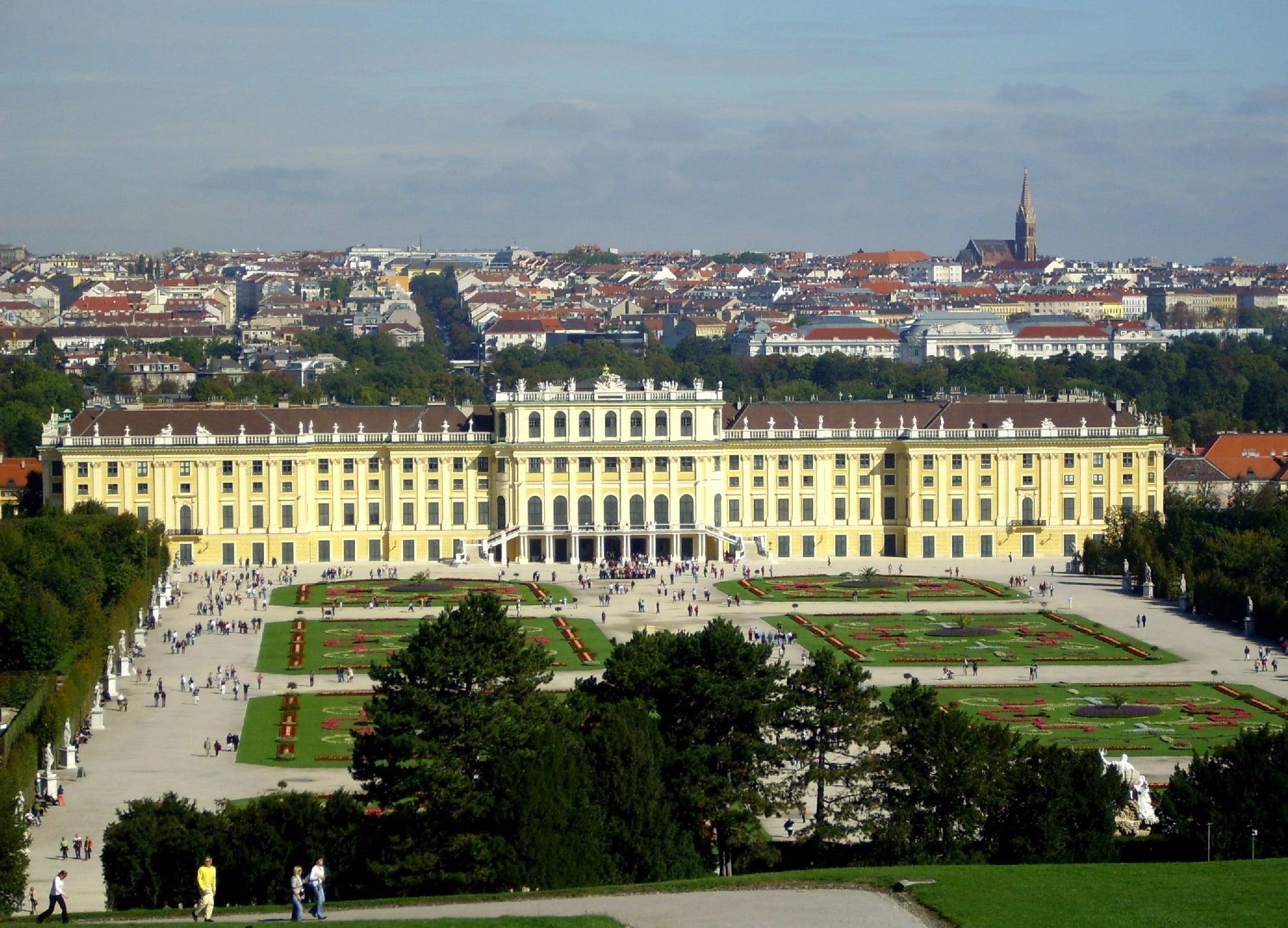 Palacio Schönbrunn en Viena