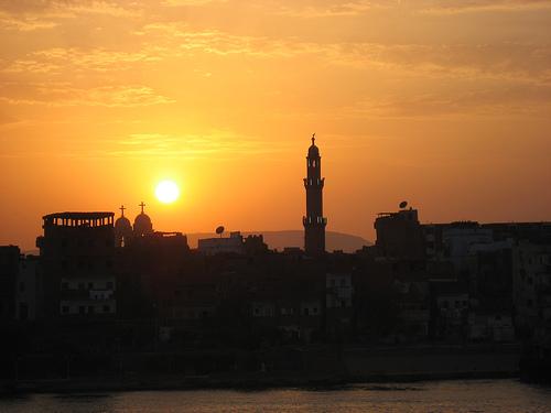 Panoramica del Crucero por el Nilo