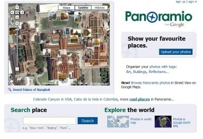 Descubre el mundo con Panoramio
