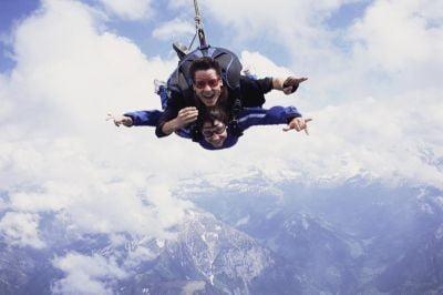 paracaidismo Catalunya con instructor