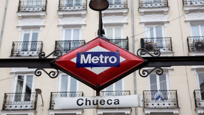 Parada de metro Chueca, Madrid