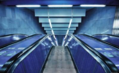 Parada de metro de Praga