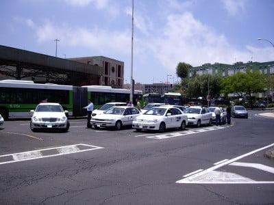 Parada de taxis de Tenerife