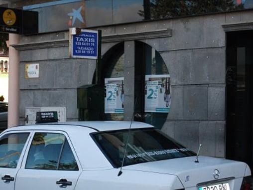 Parada de taxis La Palma