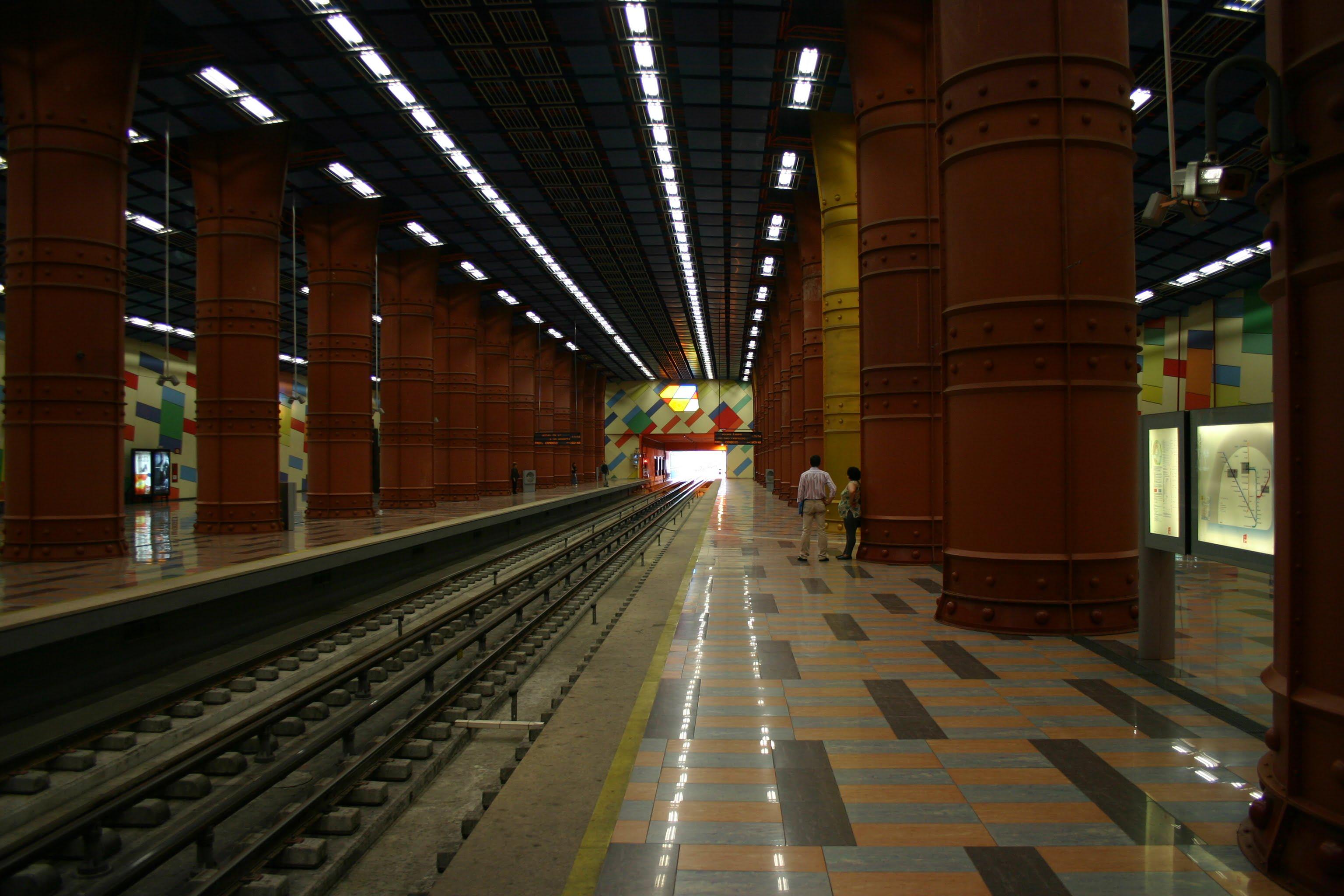 Parada de metro de Lisboa