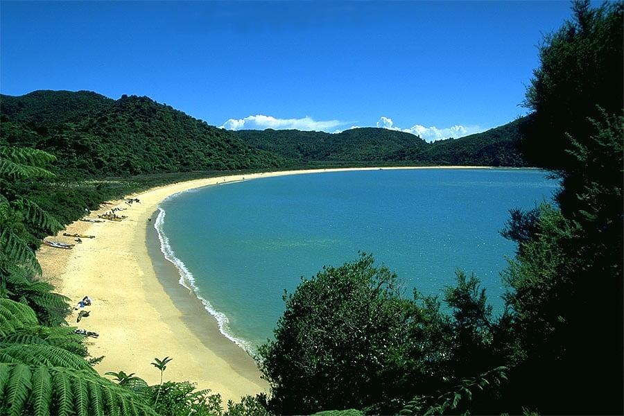 Parque Abel Tasman en Nueva Zelanda