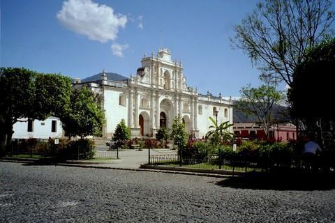 Parque Central de la Antigua Guatemala