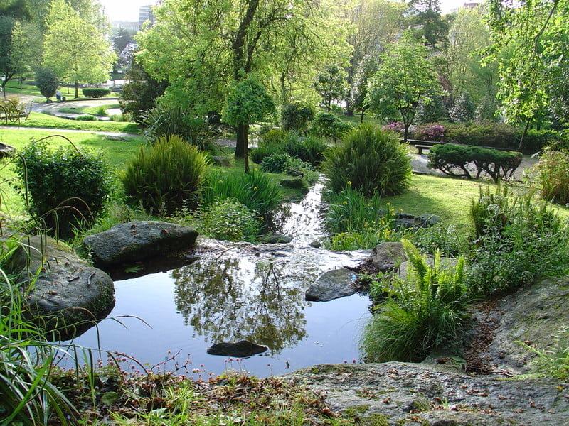 Parque de Castrelos en Vigo