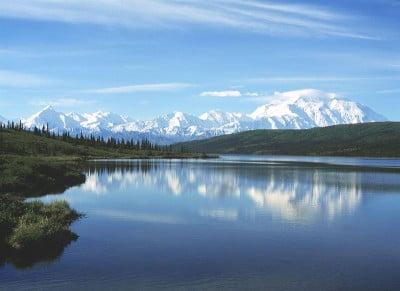 Parque Nacional de Denali y el monte McKinley.