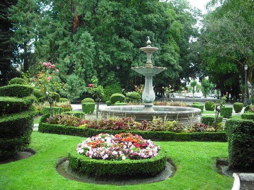 Parque Rosalía de Castro de Lugo