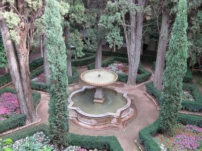 Parques y jardines de la Alhambra