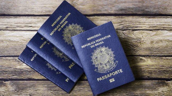 Pasaporte y requisitos para viajar a Brasil