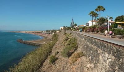 Paseo marítimo de Playa del Inglés