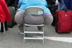 Overweight passenger