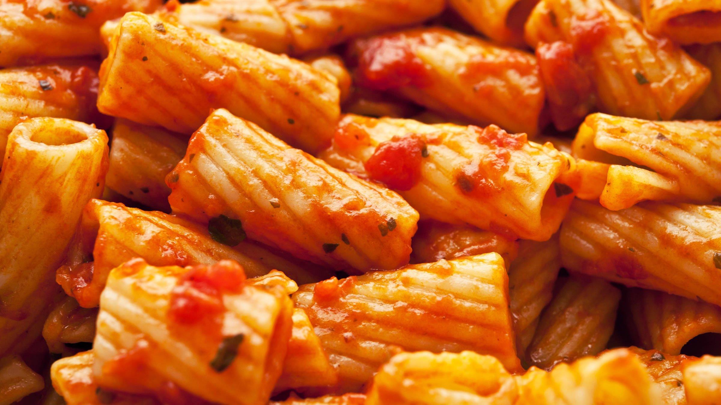 Pastas for Pasta tipica italiana