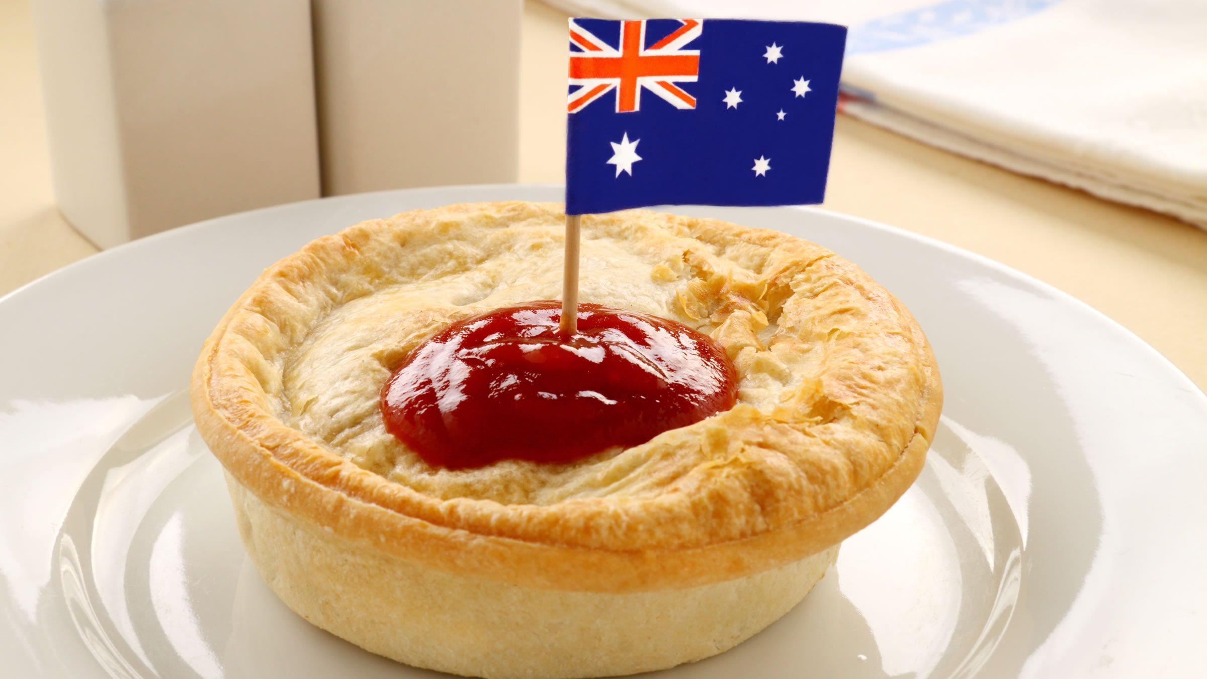Pastel de carne picada australiano for Australian fusion cuisine