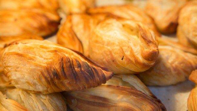 Pastizzi: aperitivo típico de Malta