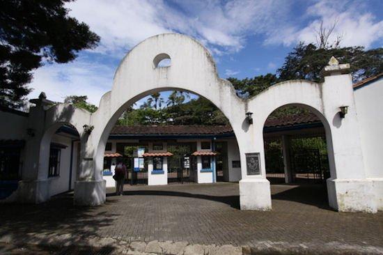 Entrada al Parque Zoológico y Jardín Botánico de San José