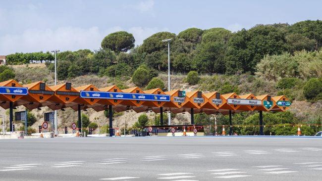 バルセロナへの通行料