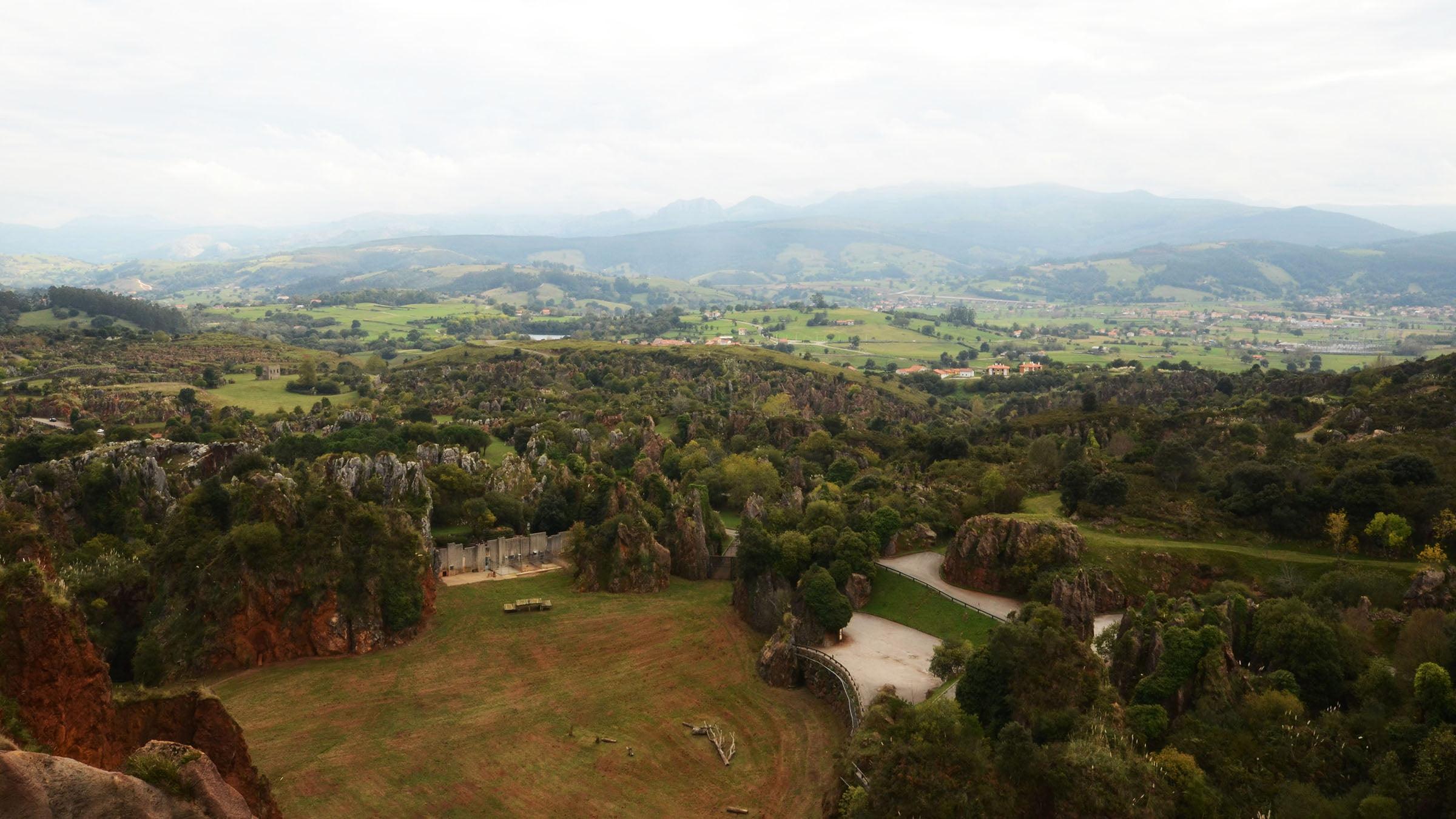 Peña Cabarga, donde se encuentra enclavado el Parque de la Naturaleza de Cabárceno