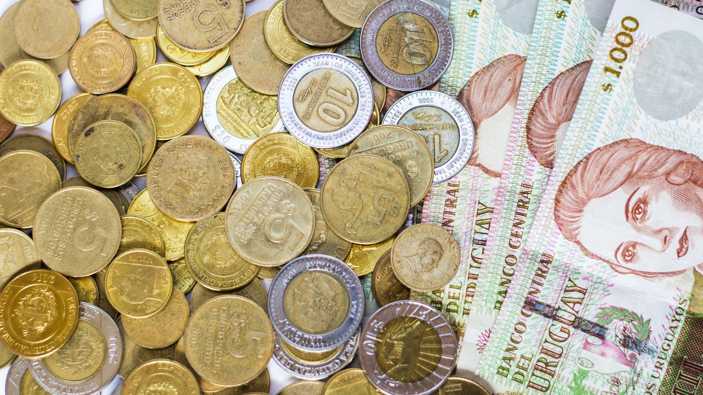 Moneda de uruguay for Oficinas de cambio de moneda en barcelona