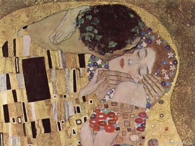 """Pintura """"El beso"""" de Klimt"""