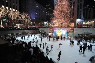 Pista de Patinaje del Rockefeller Center