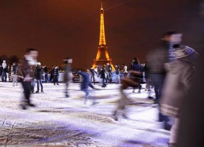 pistas de patinaje en paris