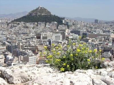 Plaka en Atenas