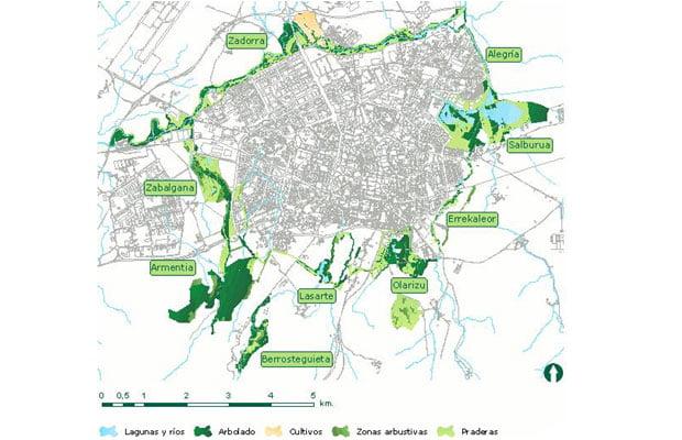 Plano del Anillo Verde