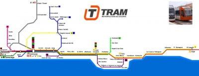 Plano del TRAM de Alicante