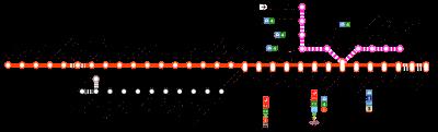 Plano del metro de Bilbao