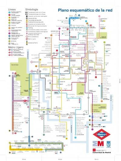 Planos Transportes Públicos Madrid