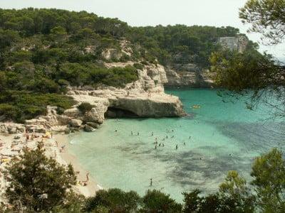Playa de Cala Mitjana